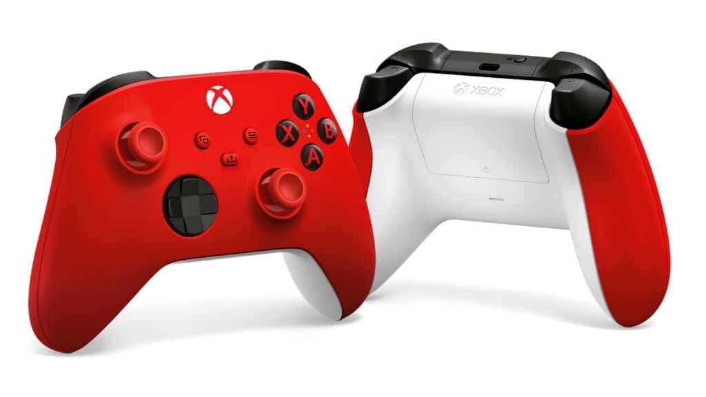 Controler XBOX czerwony